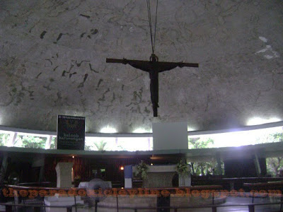 Inside UP Diliman Chapel