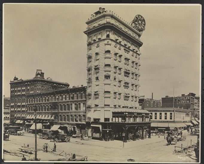 new york history geschichte pabst hotel at longacre square. Black Bedroom Furniture Sets. Home Design Ideas