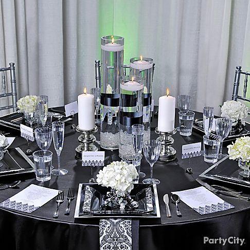 eventos , bodas , decoración , blanco , negro