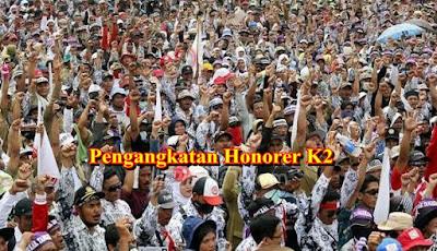 Kabar Gembira!! Pengangkatan Honorer K2 Menjadi PNS Mendapat Persetujuan