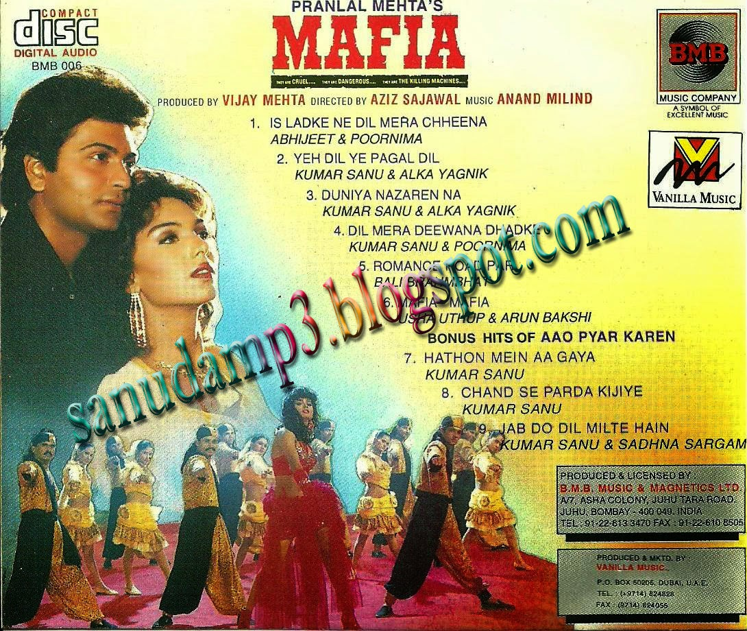 Sanu Load Ni Karan Aujla Mp3: Sanudamp3.blogspot.com: Mafia(1994