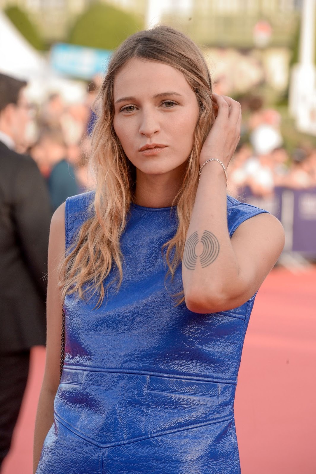 HQ Photos of Christa Theret At Tribute To Stanley Tucci At 42nd Deauville American Film Festival