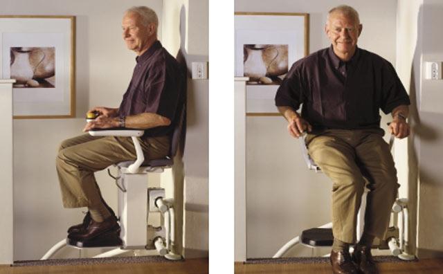 comment faire fonctionner et utiliser le fauteuil monte escalier