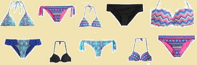 la linea 2016 di tezenis per la moda mare: i bikini