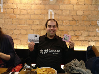 Pierateer Rob at Pieminister Pie Night