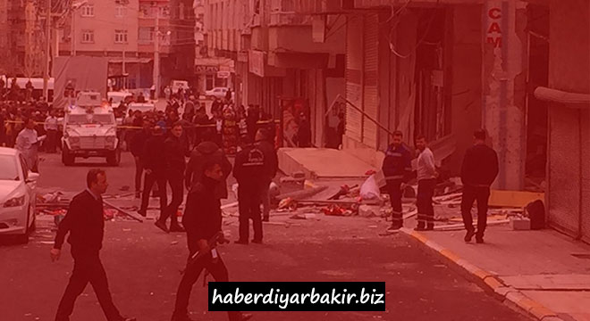 One dead in the blast in Diyarbakır