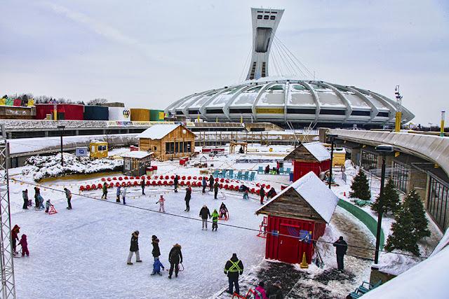 Winter Village em Montreal