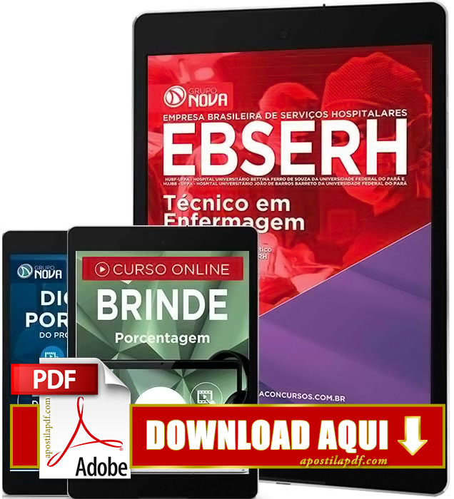 Apostila EBSERH PA 2016 Técnico em Enfermagem PDF Download