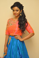 Nithya Shetty in Orange Choli at Kalamandir Foundation 7th anniversary Celebrations ~  Actress Galleries 013.JPG