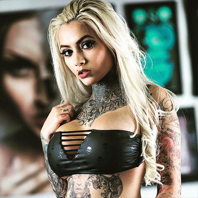 Tattoo artist model Gypsy Rose 1