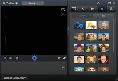 Screenshot CyberLink YouCam Deluxe 7.0.3529.0 Full Version
