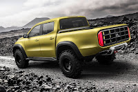Mercedes-Benz Concept X-Class 'Adventurer' (2016) Rear Side