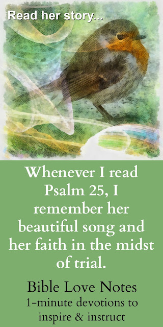 Sweet Sorrow and Shared Tears - Psalm 25