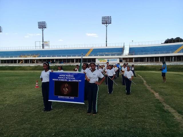 Banda Marcial de Senador Canedo se classifica para competição nacional