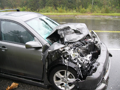 What to do when you get into a car accident.