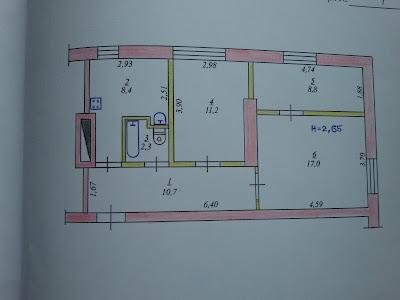 Продается 3-комнатная сталинка Кривой Рог
