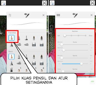 Aplikasi edit foto kartun