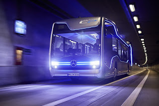 Autobus Mercedes del futuro