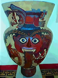 Arte Nazca, no Museo de Arqueologia de Lima