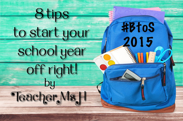 8 Back to School Tips for Teachers