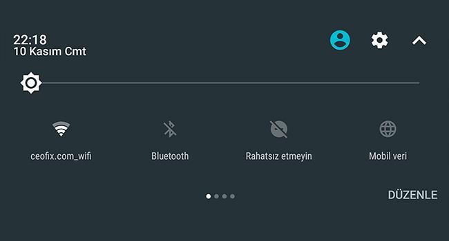 Android Telefonda Wifi İle Mobil Veri Kullanımına Geçiş Yap- ceofix