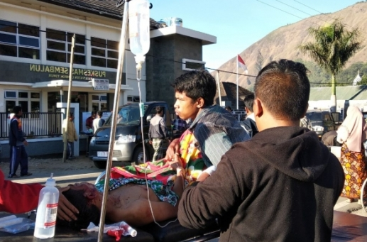 Gempa 7 SR Guncang Lombok, 82 Korban Meninggal Dunia, Ditemukan, Pencarian Masih Terus Dilakukan