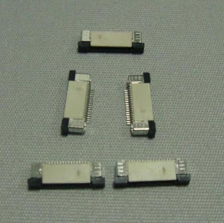 5pcs FFC/FPC connector 16pin pitch 0.5mm top contact