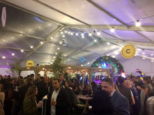 Edinburgh Cocktail Week pop up village tent