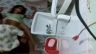 พี่เขยหื่นแอบเอาน้องสาวเมียในห้องน้ำ พร้อมกับซ่อนกล้องถ่ายคลิป