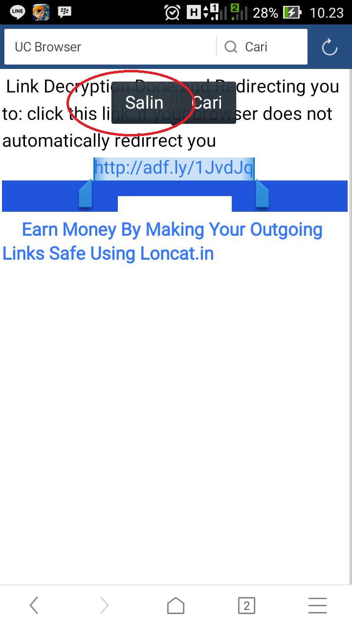 [Tutorial Download] Cara Langsung Download Tanpa Harus Melewati Adf.ly