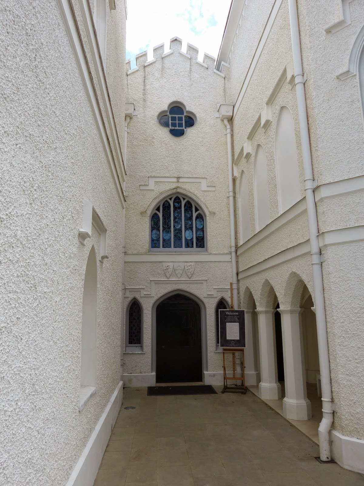 Entrance, Strawberry Hill
