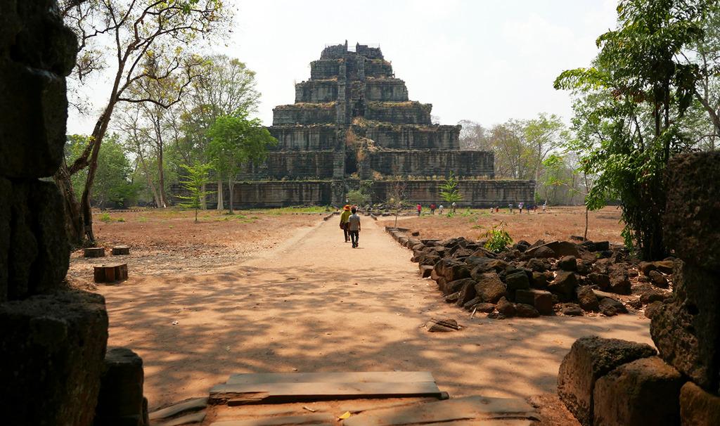 Euriental - Koh Ker pyramid, Siem Reap, Cambodia
