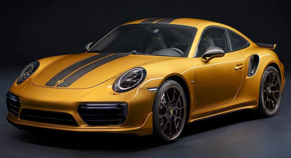 Porsche adds power to 911 Turbo S with Exclusive Series
