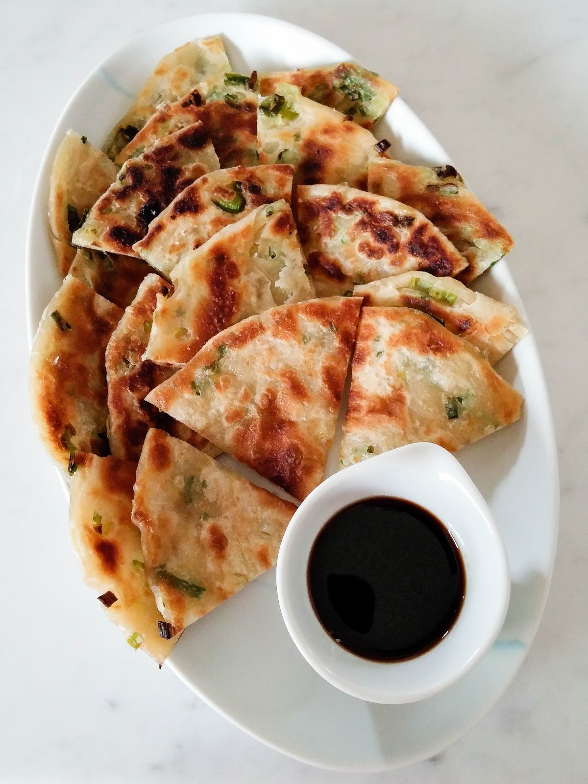 Green Onion Pancake Hungry Cravings: Chine...