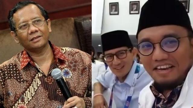Mahfud MD Puji Jubir Prabowo-Sandi Yang Berani Mengundurkan Diri dari PNS