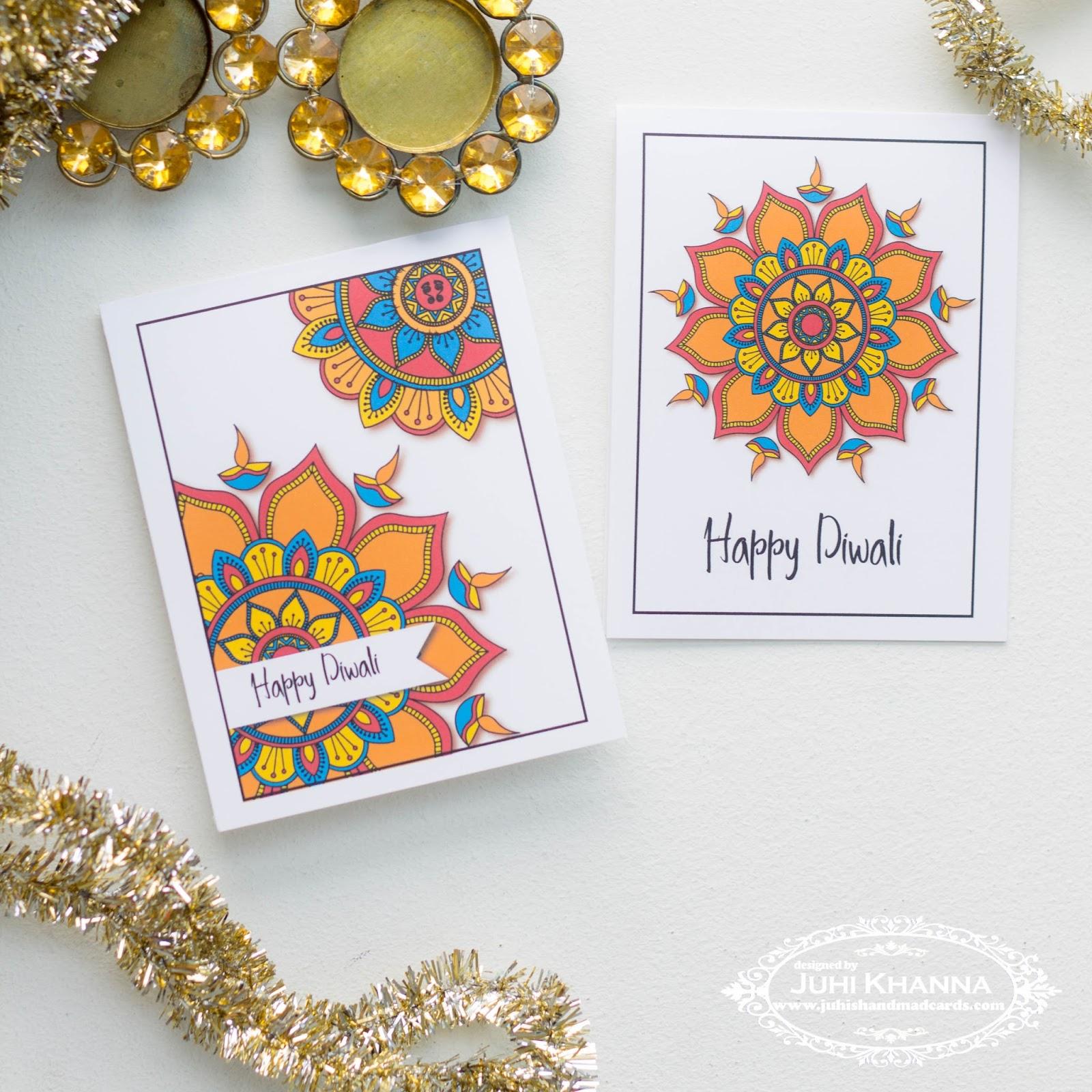 Juhis handmade cards october 2016 free printable diwali cards m4hsunfo