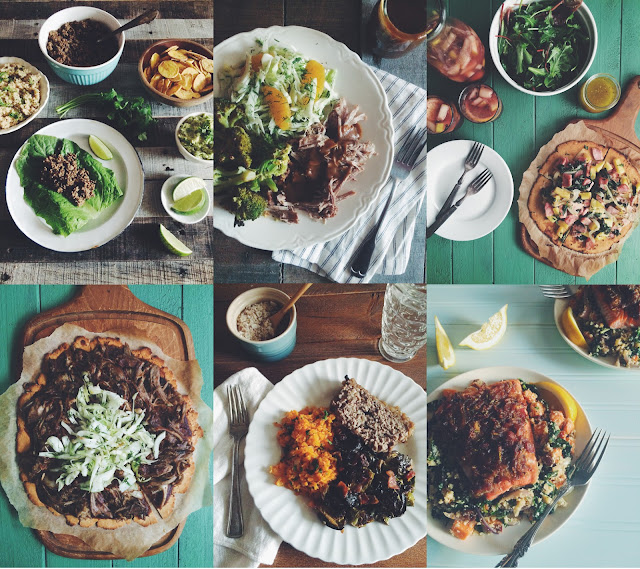 """AIP Dinners from """"The Healing Kitchen"""""""