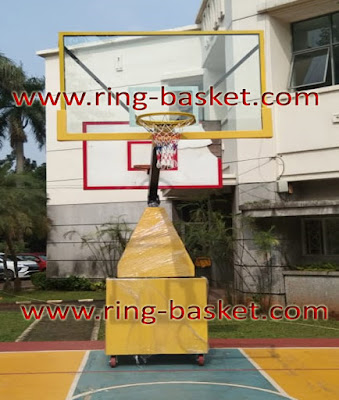 jual tiang basket portabel