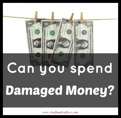 Can you use damaged money? - chieffamilyofficer.com
