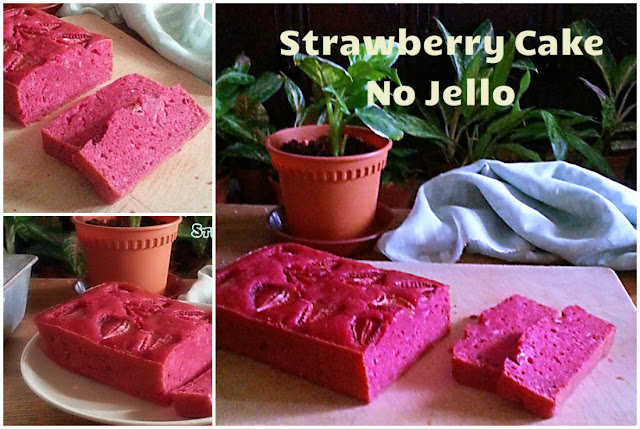 Strawberry Cake No Jello Recipe @ treatntrick.blogspot.com