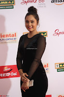 Vennela in Transparent Black Skin Tight Backless Stunning Dress at Mirchi Music Awards South 2017 ~  Exclusive Celebrities Galleries 054.JPG