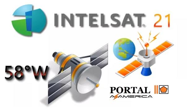 Resultado de imagem para TP DE APONTAMENTO DVB-S SATÉLITE INTELSAT 21 58W