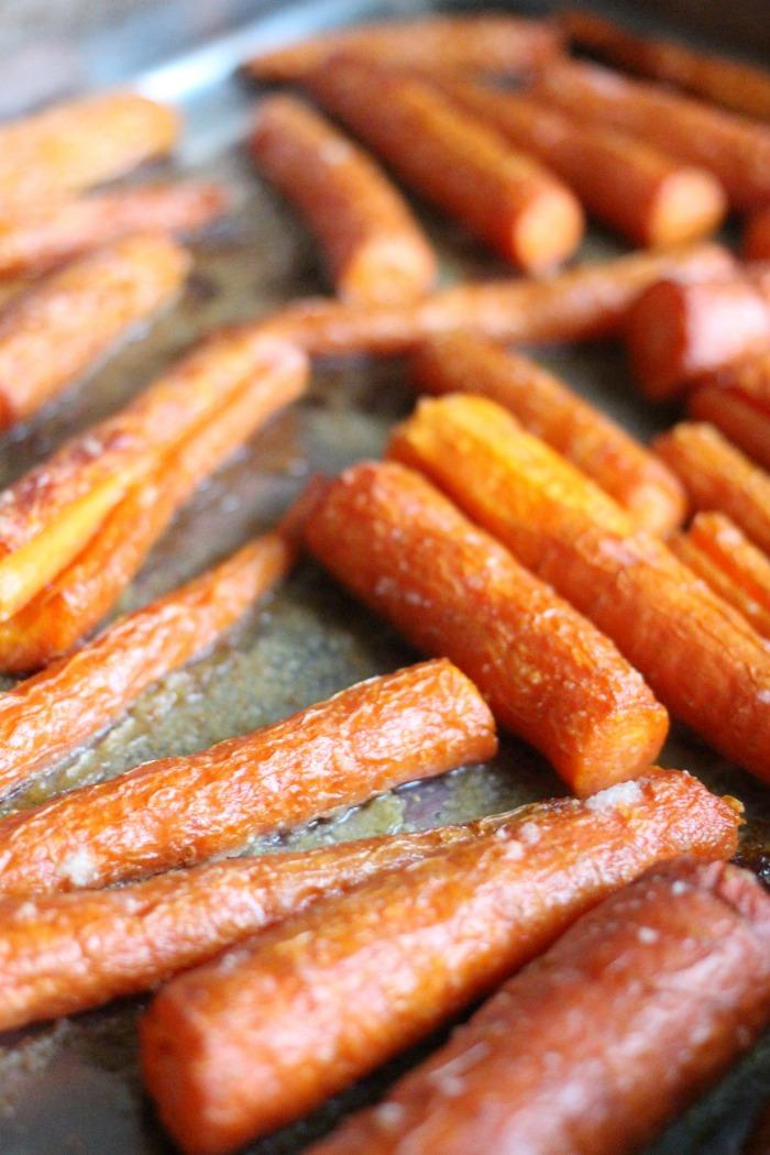 how do you roast carrots