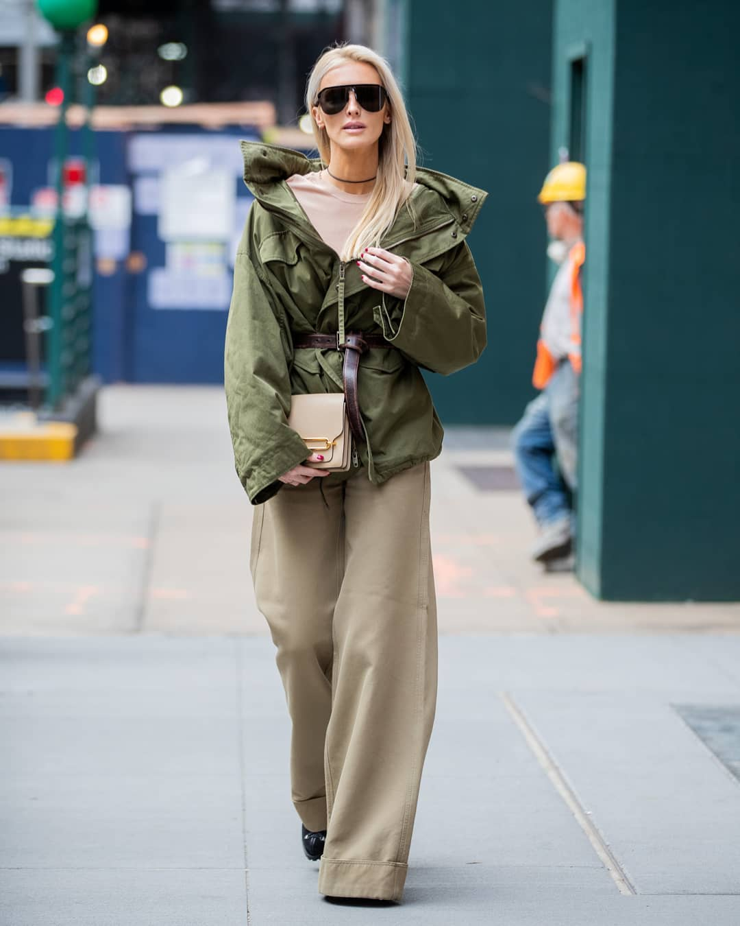 Military-Inspired Jackets are a Key Trend for Spring
