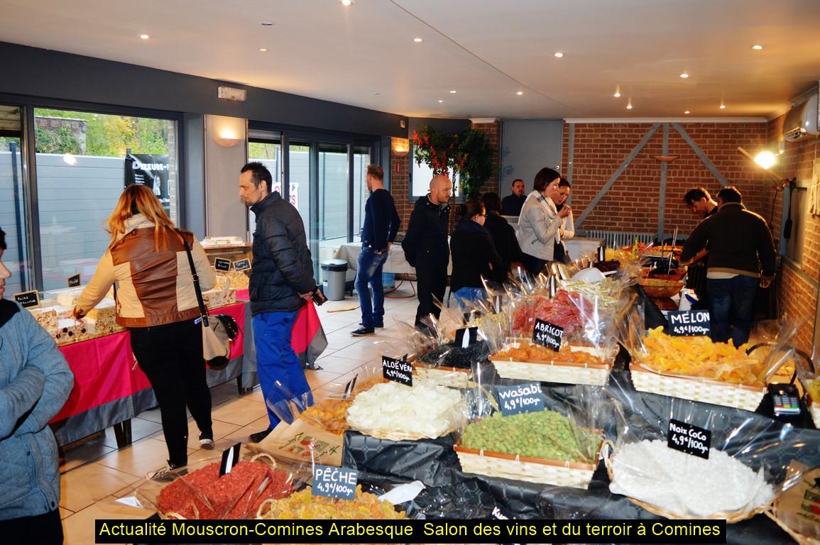 Actualit s mouscron comines comines il y a de quoi manger et boire au salon des vins dans la - Salon les charmettes mouscron ...