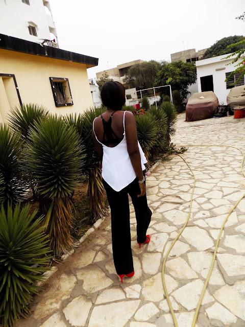 FashionDRA   Lookbook : It's Black & White for me !