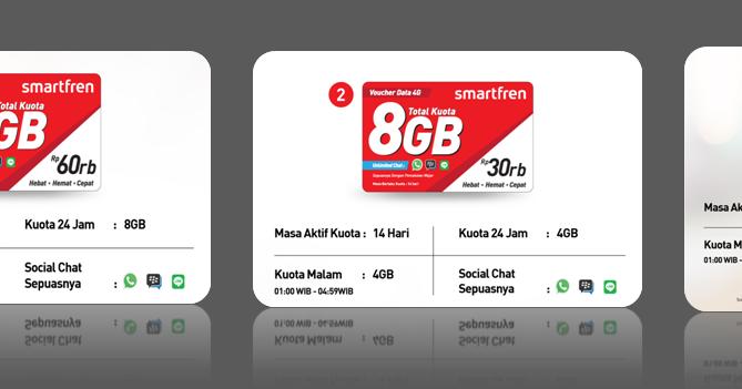 cara isi ulang voucher internet smartfren 4G lte ~ paket