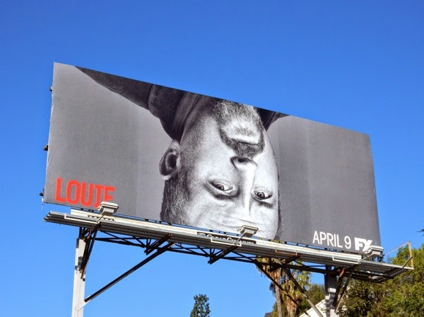 upsidedown Louie season 5 billboard