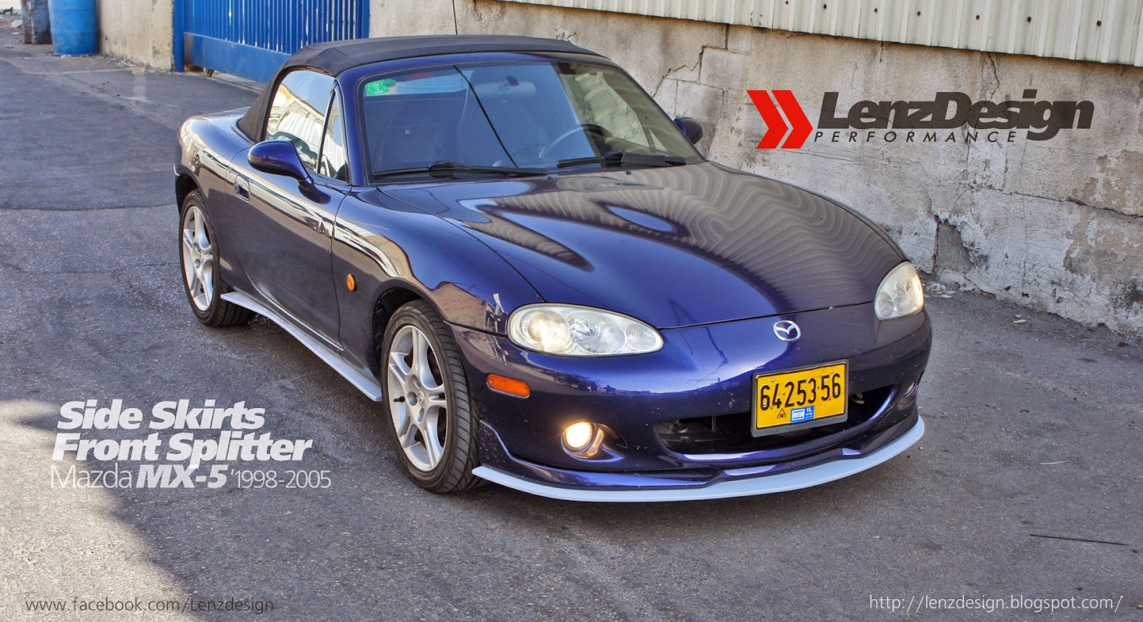 mazda mx 5 miata 1998 2005 body kit lenzdesign performance. Black Bedroom Furniture Sets. Home Design Ideas