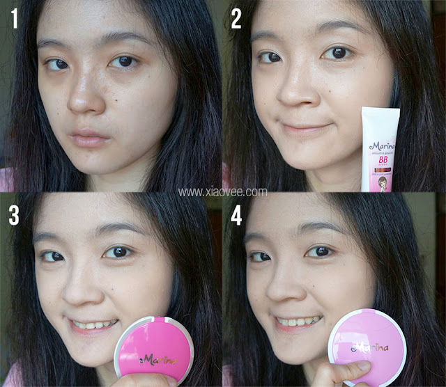 Saatnya bersinar dengan Marina, Marina Smooth & Glow UV Review, Marina Smooth & Glow UV BB Cream Review, Marina Smooth & Glow UV Two Way Cake Review, Marina Smooth & Glow UV Compact Powder Review, Review BB Cream Marina, Review Two Way Cake Marina, Review Compact Powder Marina, Review Bedak Marina, Marina Before After